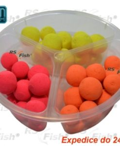 Boilies Ocean Fresh Fluoro Pop - Up Midi Halibut