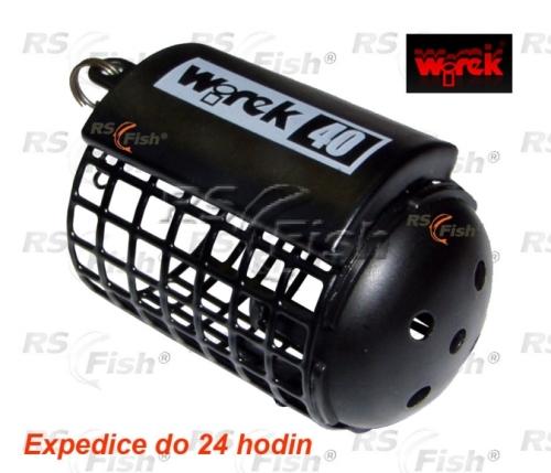 Wirek® Zátěž krmítko feederové Wirek – kulaté se dnem 40 g