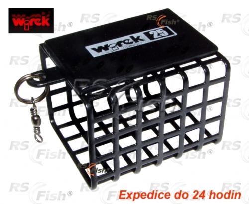 Wirek® Zátěž krmítko feederové Wirek – hranaté 40 g