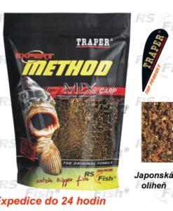 Traper® Krmítková a vnadící směs Traper Method Mix Japonská Oliheň - 1 kg