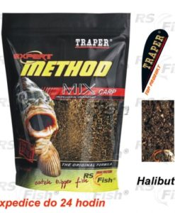Traper® Krmítková a vnadící směs Traper Method Mix Halibut - 1 kg