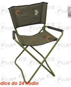 M Elektrostatyk® Křeslo rybářské F10 - zelené