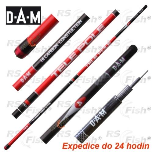 DAM® Prut DAM Carbon Tele Pole 500