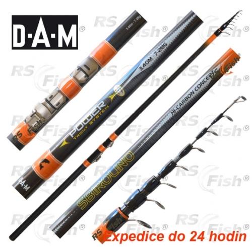 DAM® Prut DAM PTS Sbirolino 340 cm