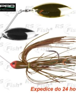 SPRO® SPRO Ringed Spinnerbait - barva Green Pumpkin 100 mm - 4861204