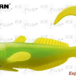 Cormoran® Ripper Cormoran Curly Goby - barva chatreuse lime 70 mm - 51-83705