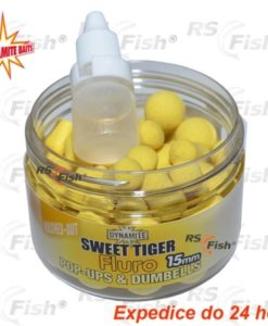 Dynamite Baits® Dynamite Baits Fluoro Pop-Ups & Dumbells Sweet Tiger 15 mm