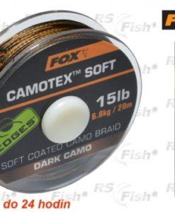 Fox® Šňůra FOX Camotex Soft - Dark Camo 9