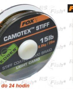 Fox® Šňůra FOX Camotex Stiff - Light Camo 11