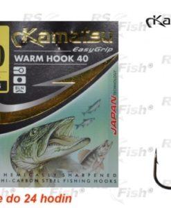 Kamatsu® Háček Kamatsu Worm 40 3/0