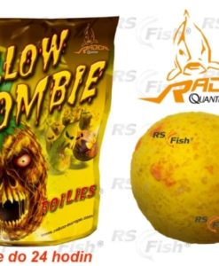Zebco® Boilies Quantum Radical Yellow Zombie - 1 kg