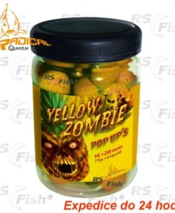 Zebco® Boilies Quantum Radical PoP Up Yellow Zombie