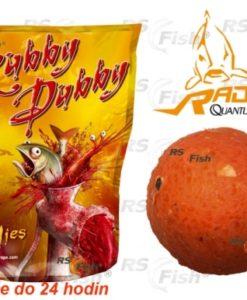 Zebco® Boilies Quantum Radical Rubby Dubby - 1 kg