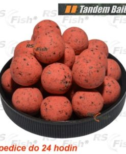 Tandem Baits® Boilies Tandem Baits Impact Pop-Up Perfection - Extra Jahoda