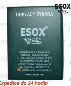 Esox® Pouzdro na doklady rybáře Esox