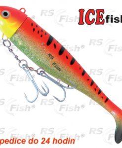 Ryba Moby Ice Fish - barva červená D