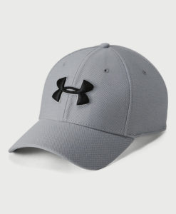 Kšiltovka Under Armour Men's Heathered Blitzing 3.0 Šedá