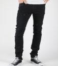 Džíny Diesel Thavar L.34 Pantaloni Černá