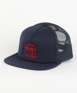 Kšiltovka Vans MN Galer Trucker Dress Blues Modrá