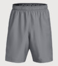Kraťasy Under Armour Woven Graphic Short Šedá