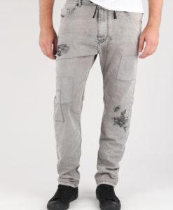 Jogg Jeans Diesel Narrot-Ne Pantaloni Šedá