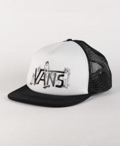 Kšiltovka Vans Mn Shaper Gang Truck White/Black Bílá