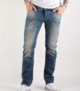 Džíny Diesel Belther L.32 Pantaloni Modrá