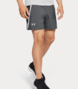 Kraťasy Under Armour Launch Sw 5'' Short Šedá