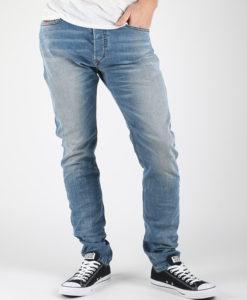 Džíny Diesel Tepphar L.34 Pantaloni Modrá