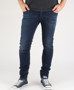 Džíny Diesel Sleenker L.32 Pantaloni Modrá