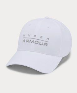 Kšiltovka Under Armour Men's Wordmark Str Cap Bílá