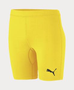 Šortky Puma LIGA Baselayer Short Tight Žlutá