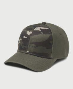 Kšiltovka Oakley 6 Panel Camou + Solid Hat Zelená