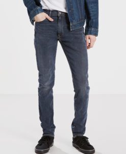 Džíny LEVI'S 519 Extreme Skinny Fit Base 519 Modrá
