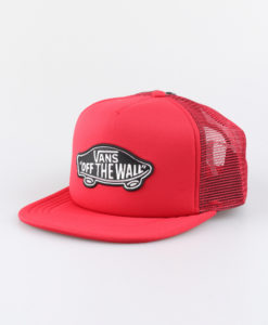Kšiltovka Vans Mn Classic Patch Tru Racing Red Červená