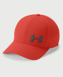 Kšiltovka Under Armour Men's AirVent Core Cap Červená