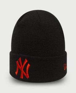 Čepice New Era MLB League essential cuff NEYYAN Černá