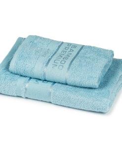 4Home Sada Bamboo Premium osuška a ručník světle modrá