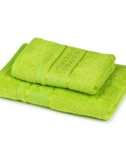 4Home Sada Bamboo Premium osuška a ručník zelená
