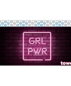 Towee Rychleschnoucí osuška GIRL PWR