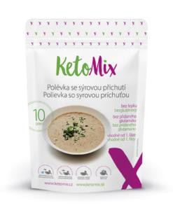 KetoMix Proteinová polévka se sýrovou příchutí (10 porcí) 300 g