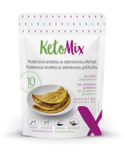 KetoMix Proteinová omeleta se zeleninovou příchutí (10 porcí ) 320 g