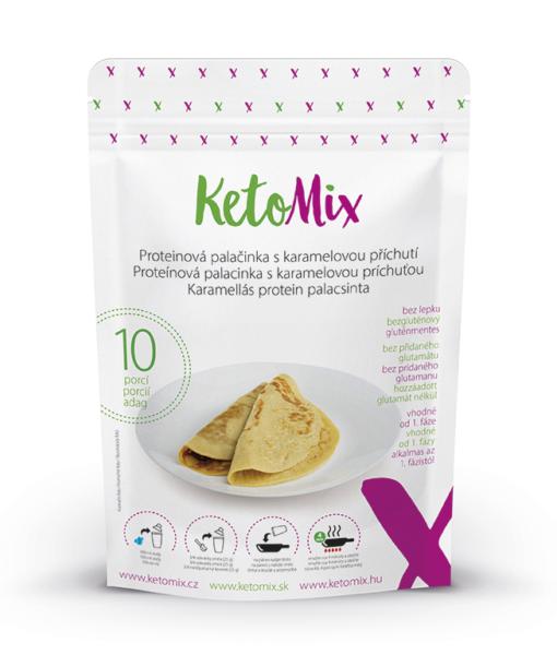 KetoMix Proteinová palačinka s karamelovou příchutí (10 porcí)