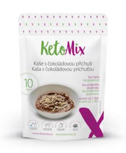 KetoMix Proteinová kaše s čokoládovou příchutí (10 porcí) 280 g