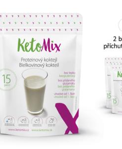KetoMix Proteinový koktejl (15 porcí) 450 g 1. příchuť koktejlu: čokoláda
